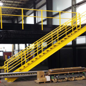 Commercial Mezzanine by Smart Space