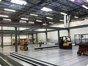 Smart Space Mezzanine Construction