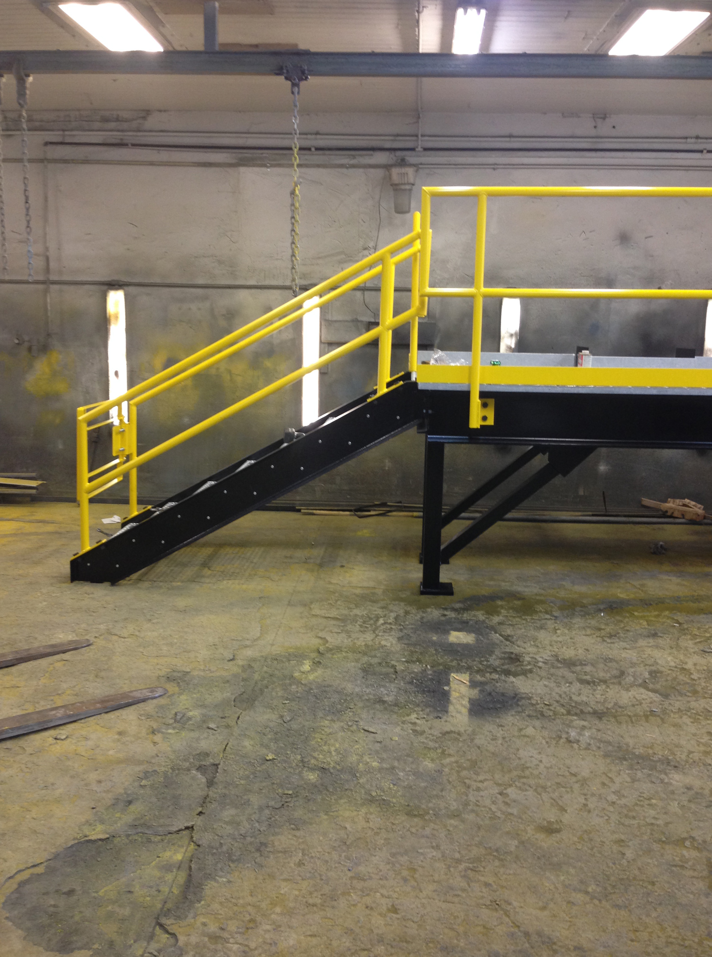 Industrial Assembled Steel Catwalk