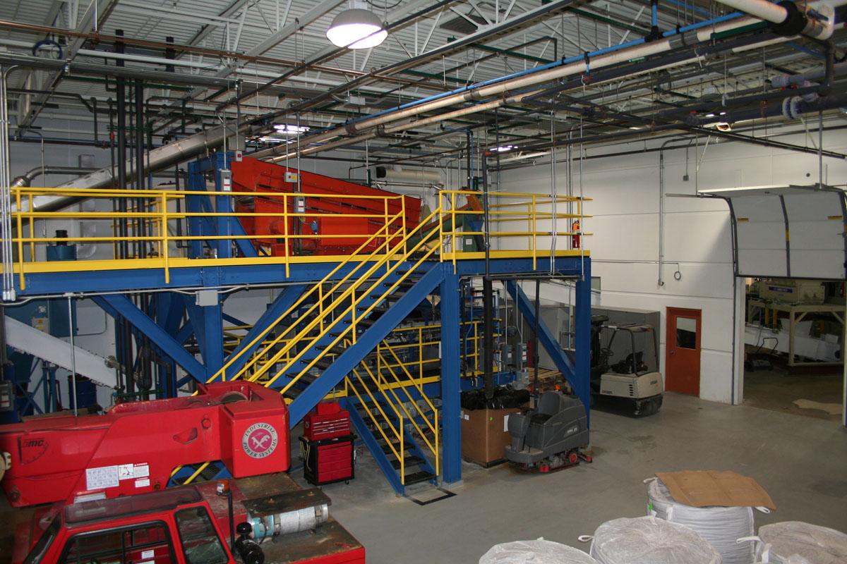 Equipment Support Mezzanine