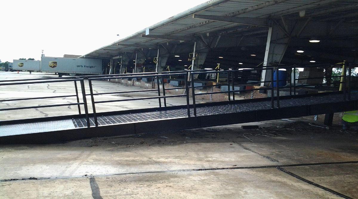 Steel Fork Truck Ramp