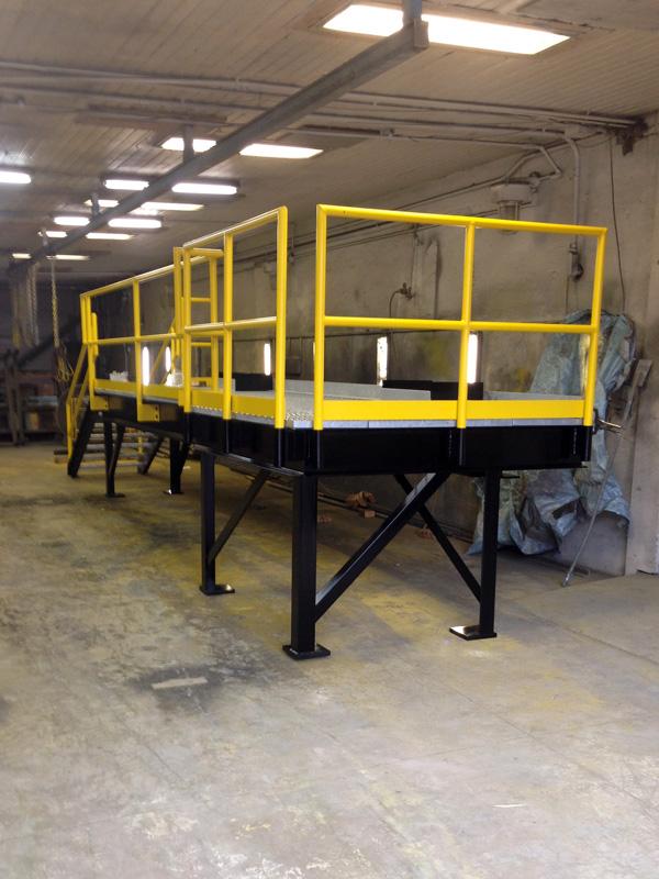 Assembled Steel Industrial Platform