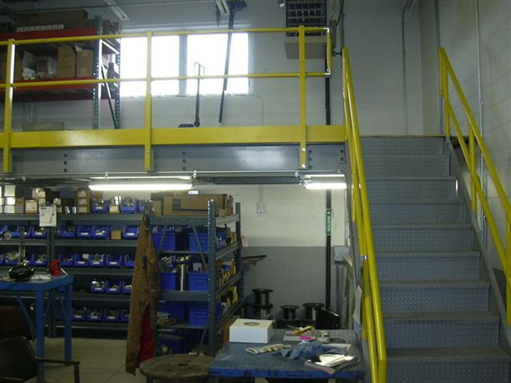 Parts Mezzanine Storage Solution
