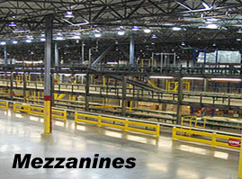 Steel Mezzanine Structures by Smart Space
