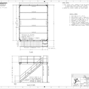 Elevated Work Platform Specs