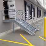 Exterior Loading Dock Stair