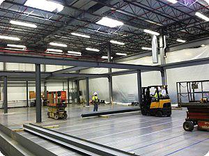 Smart Space Mezzanine Construction