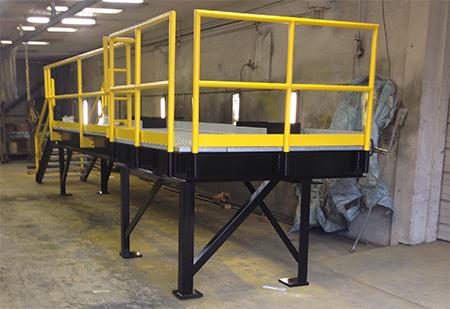 Assembled Industrial Platform