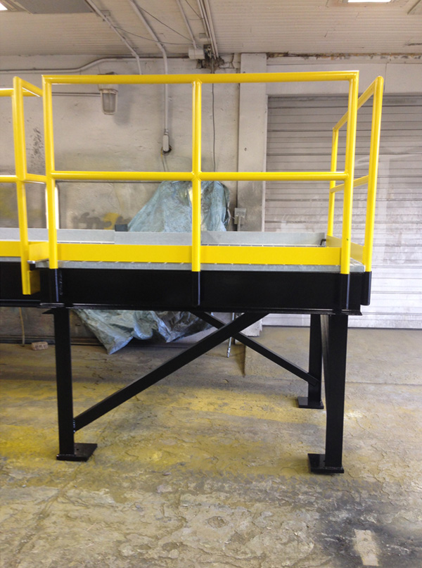Industrial Lift Out Gate