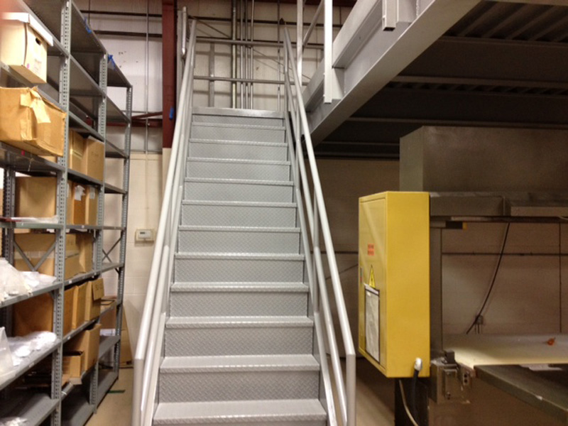 Industrial IBC Straight Stair