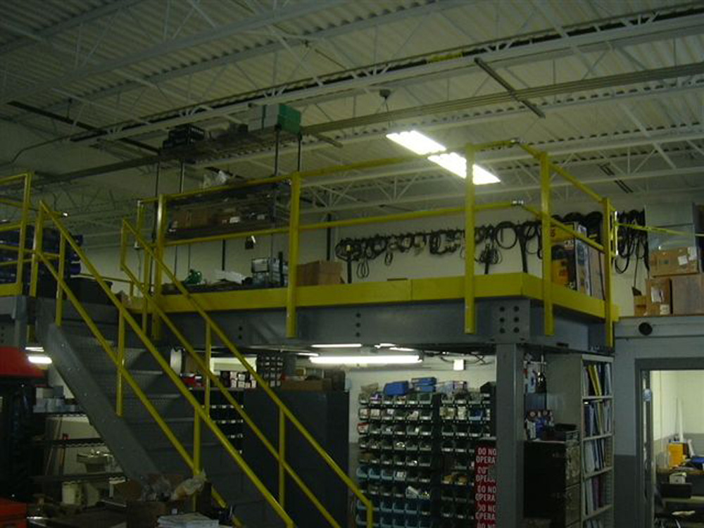 Industrial Parts Mezzanine
