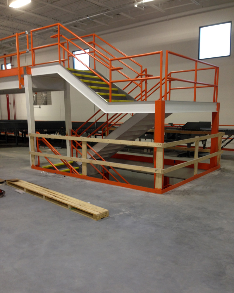Industrial Stair Landings