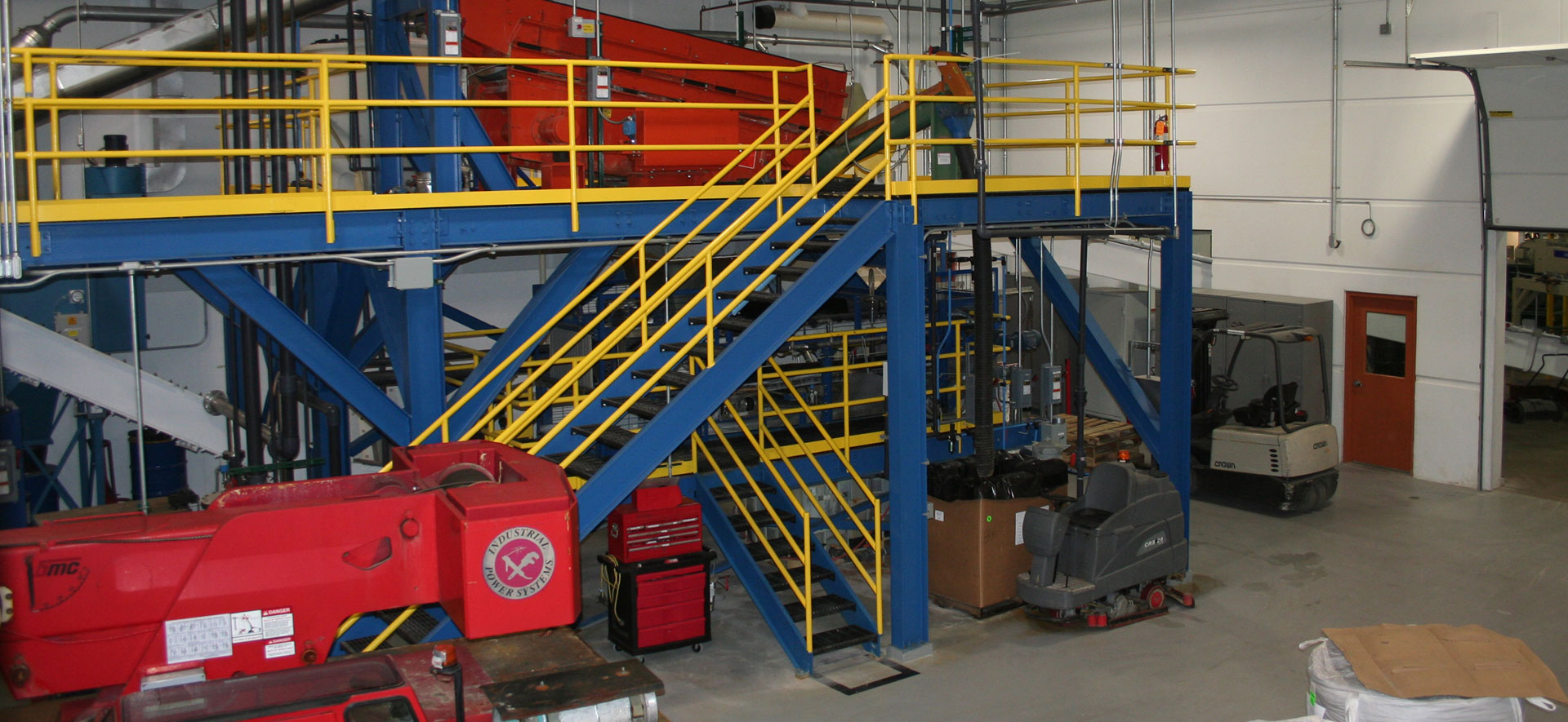 Industrial Equipment Mezzanine